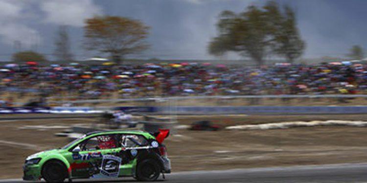 Scott Speed gana la primera prueba del Global Rallycross