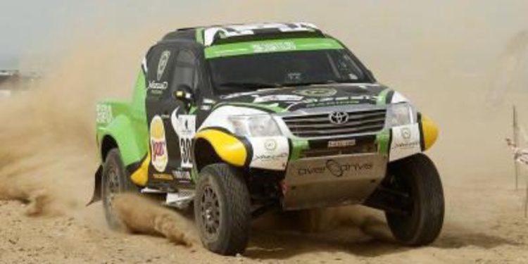 Salvatierra y Al-Rajhi al frente del Rally de los Faraones