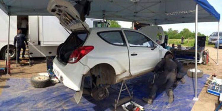 Thierry Neuville ya prepara el Rally de Polonia del WRC
