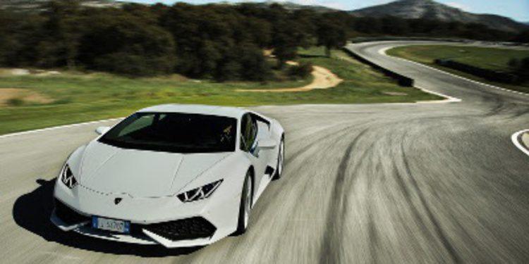 Lamborghini visita el circuito de Ascari con el Huracán