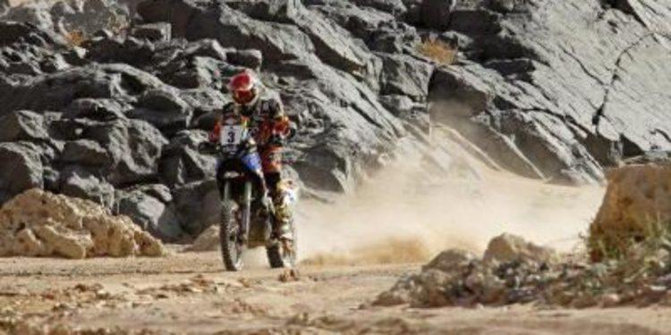 Victoria de etapa para Salvatierra y Al-Attiyah en el Rally de los Faraones