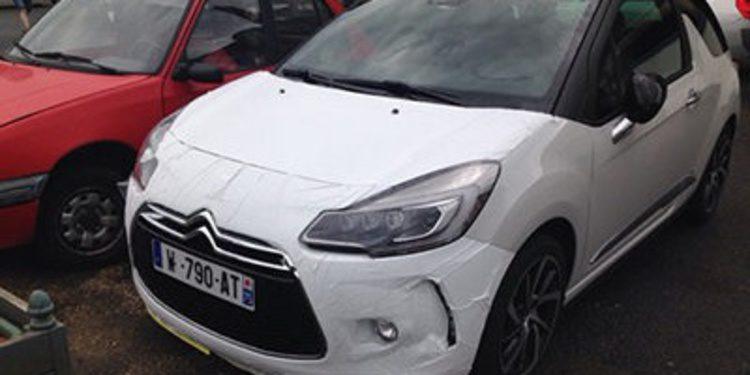Cazado el restyling nuevo Citroën DS3