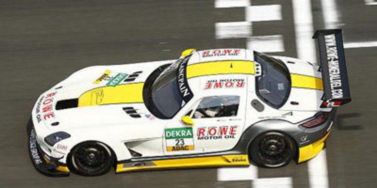 Alguersuari y Ogier con el ADAC GT Masters en Lausitz