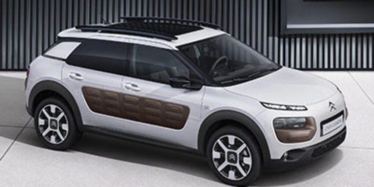 Citroën muestra el novedoso Airbag In Roof del C4 Cactus