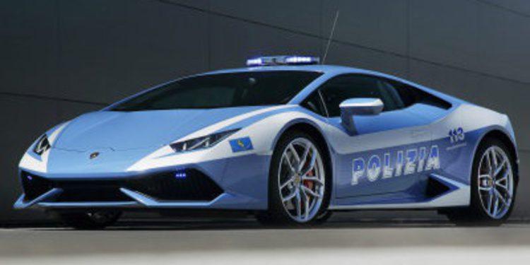El Lamborghini Huracan de los Carabinieri