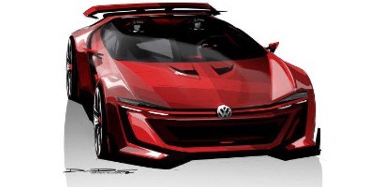 Volkswagen comienza el destape del GTI Vision Gran Turismo