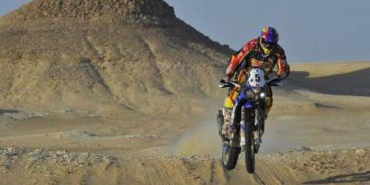 Cardona y Al-Rajhi ganan la penúltima etapa del Rally de los Faraones