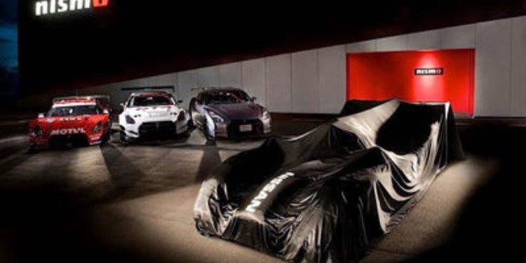 Nissan presenta el GT-R LM Nismo LMP1 para Le Mans 2015