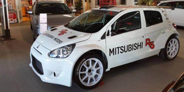 Un misterioso Mitsubishi Mirage R5 aparece en escena