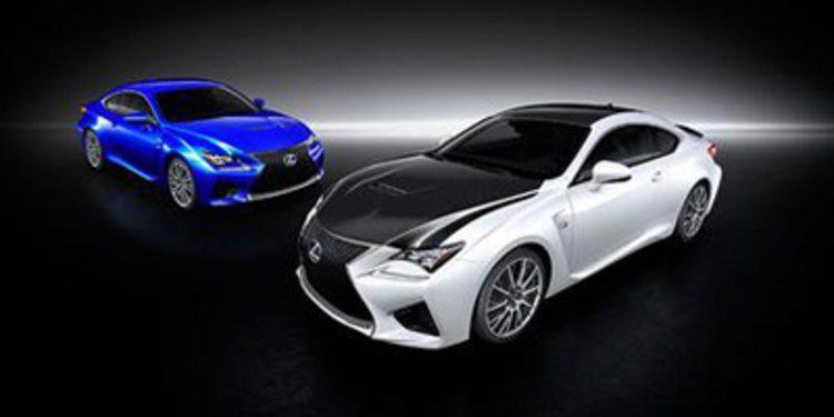 Precios para España del nuevo Lexus RC F