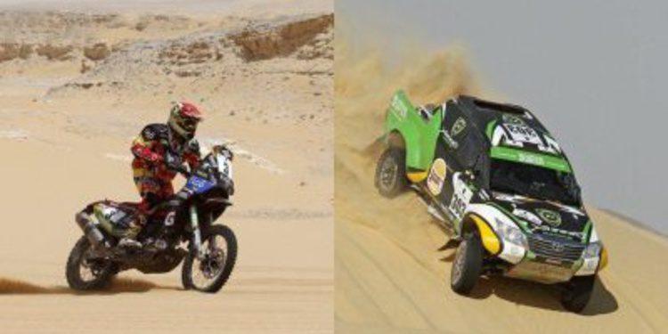 Salvatierra y Al-Rajhi ganan el Rally de los Faraones 2014