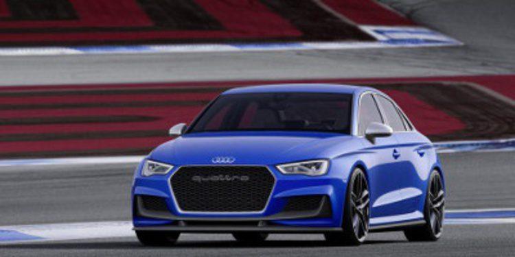 Todas las imágenes del Audi A3 Clubsport Quattro
