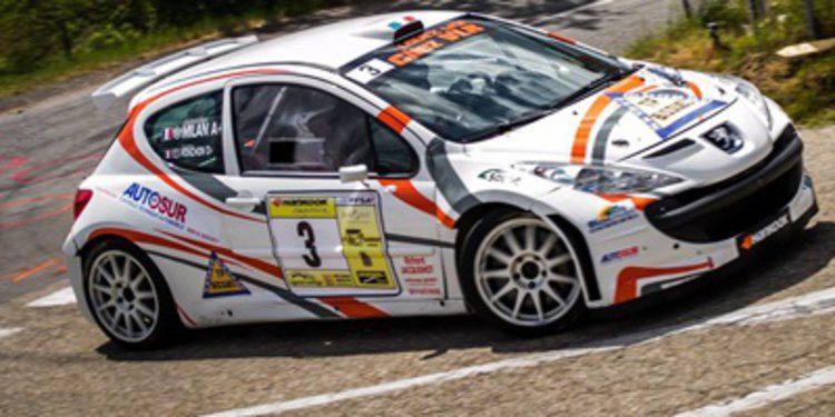 Muere Sébastien Milan en el Rally Chambost Longessaigne