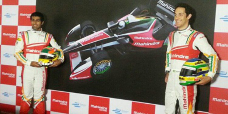 Karun Chandhok y Bruno Senna con Mahindra Racing en Formula E