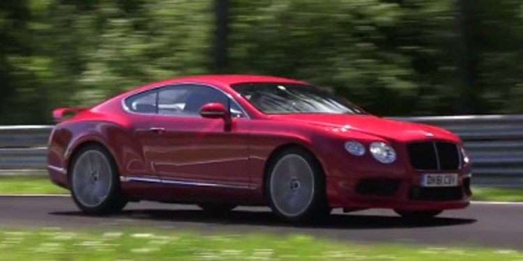 Cazan la posible versión RS del Bentley Continental GT V8