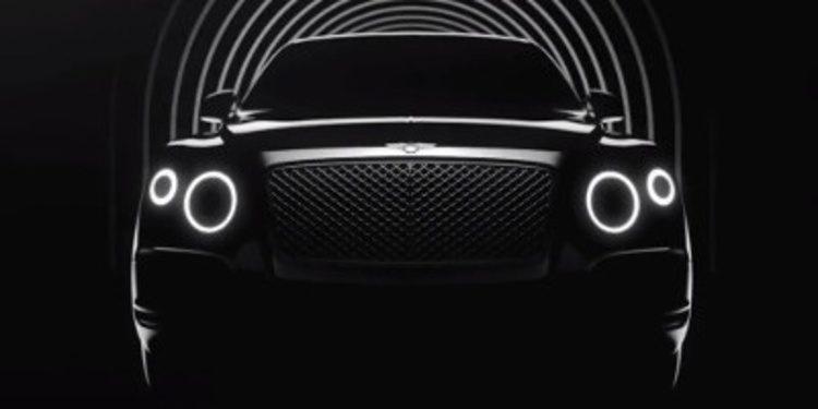 Bentley anuncia de nuevo su primer SUV con un vídeo