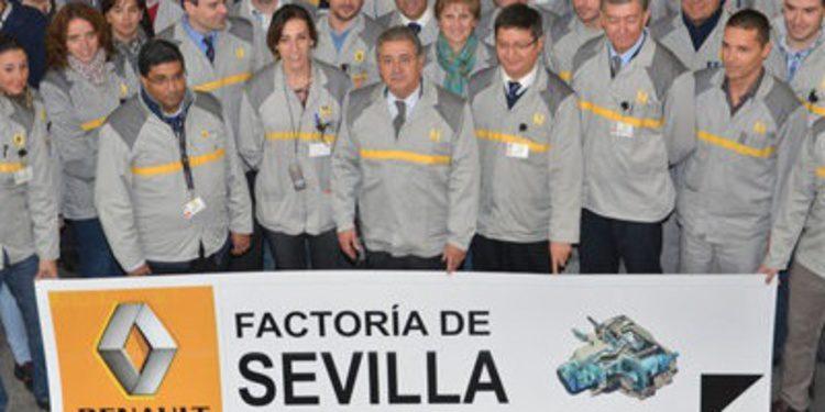 La caja de cambios JE3 alegra a Renault en Sevilla