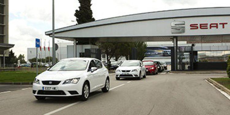 Seat entrega su primera flota de vehículos GNC