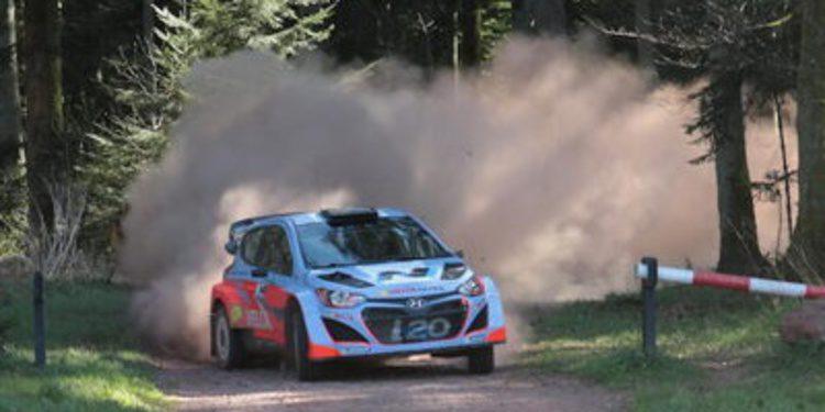 Hayden Paddon analiza sus test con el i20 WRC