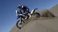 Yamaha con Olivier Pain y Michael Metge al Dakar 2015