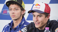 Márquez y Rossi se retan desde los FP1 de MotoGP en Mugello
