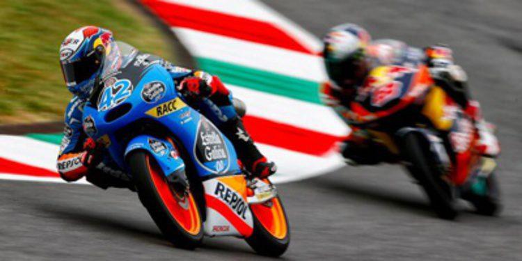 Una caída no impide la pole de Moto3 de Alex Rins en Mugello
