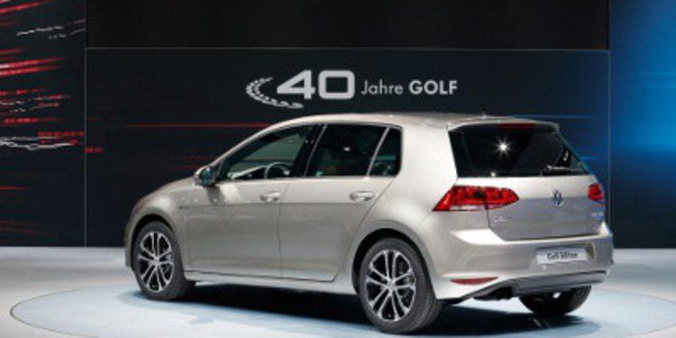 Edición especial de sus 40 años del Volkswagen Golf