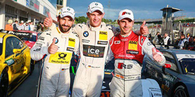 Marco Wittmann se lleva la pole del DTM en el Hungaroring