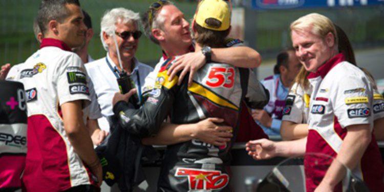 Tito Rabat ejerce de líder con victoria de Moto2 en Mugello