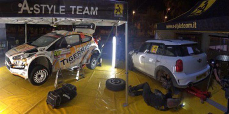 El 'Monday test' del WRC2 y otros test antes de Cerdeña