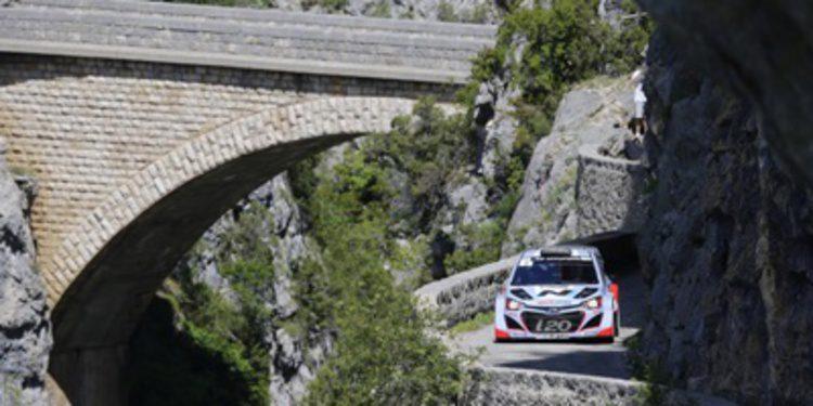 Bryan Bouffier y el Hyundai i20 WRC ganan en Antibes