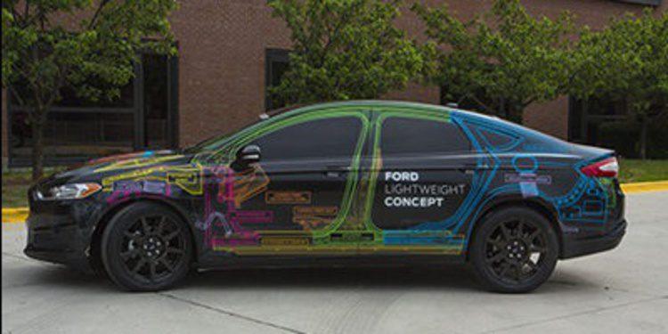 Ford iguala el peso del Mondeo con el del Fiesta