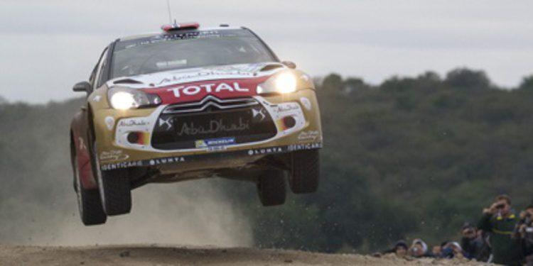 Citroën busca el éxito en el Rally de Cerdeña