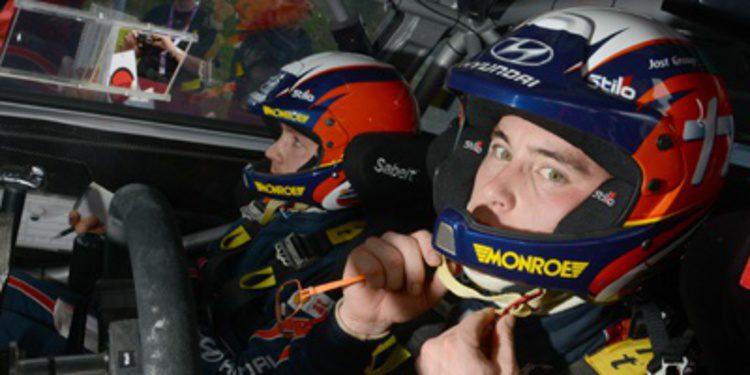 Hyundai Motorsport con tres i20 WRC a por Cerdeña
