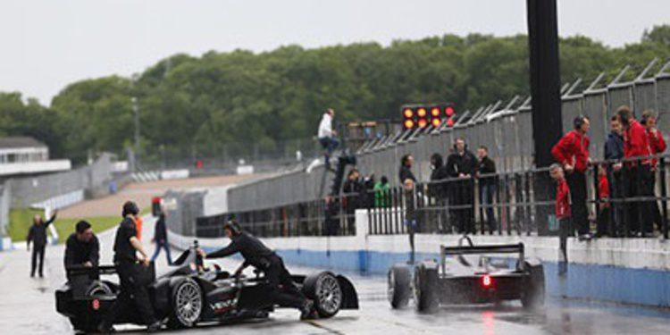 Los equipos de Formula E completan su shakedown