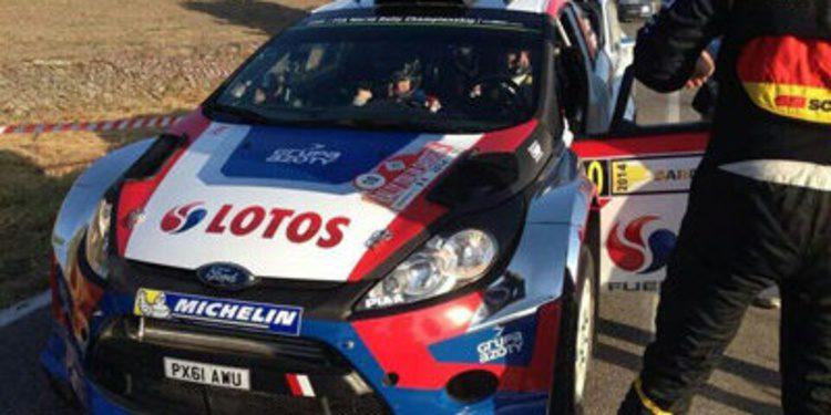 Robert Kubica domina el shakedown del Rally de Italia