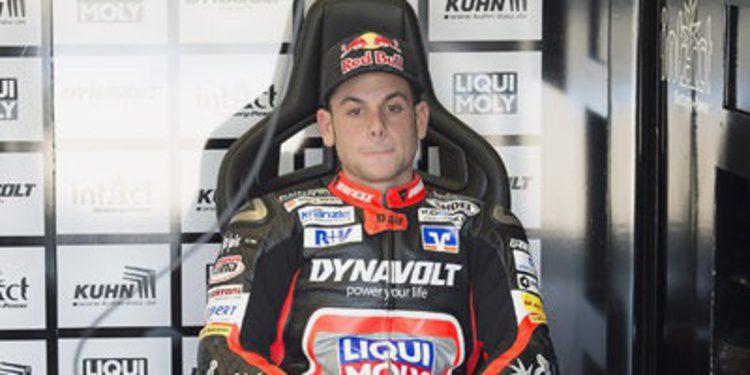 Productivo test de Sandro Cortese en Brno con la Moto2