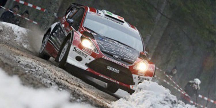 Craig Breen con un Fiesta RS WRC en Alemania y Finlandia
