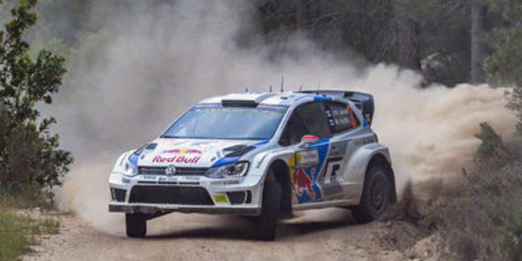 Jari-Matti Latvala aguanta en el 'Monte Lerno' de Cerdeña