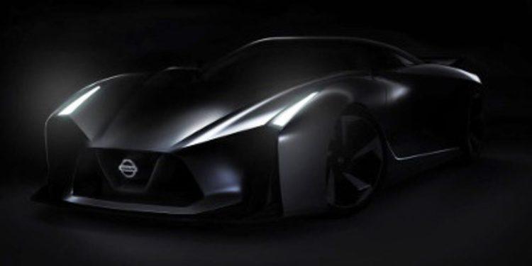 Teaser del Nissan Vision Gran Turismo concept