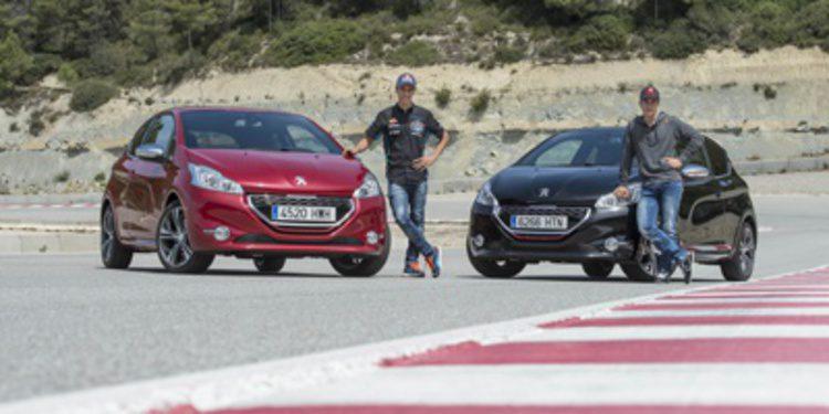 Alex Rins y Maverick Viñales embajadores de Peugeot