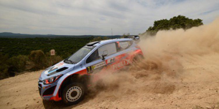 El nuevo Hyundai i20 WRC llegará a finales de verano