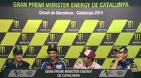 Rueda de prensa oficial del GP de Catalunya de MotoGP 2014