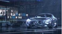 Mercedes presenta el motor del nuevo AMG GT