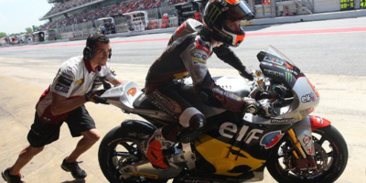 Tito Rabat aplasta al resto en el viernes catalán de Moto2