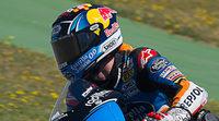 Alex Márquez vuela bajo en el FP3 de Moto3 en Barcelona