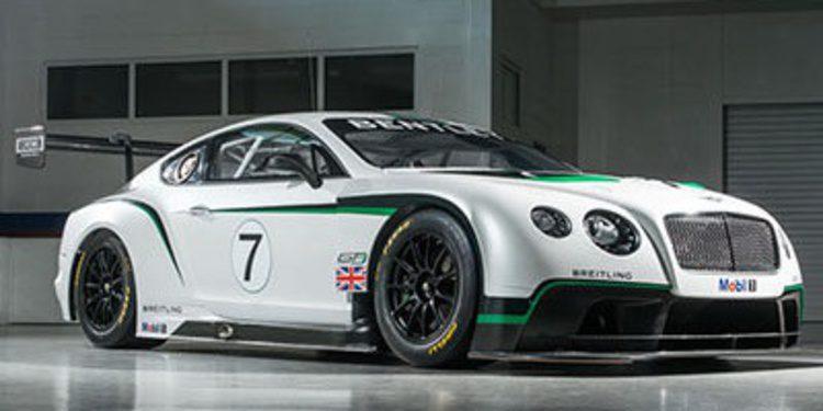Bentley presentará un Continental GT3 de calle