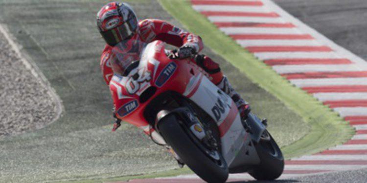 Directo warm up del GP de Catalunya de MotoGP 2014