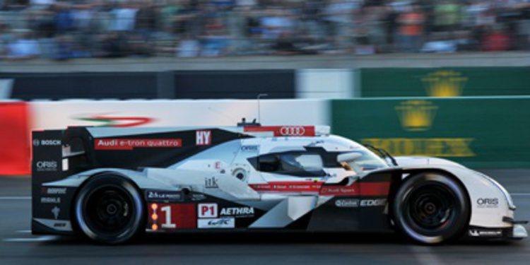 24 Horas de Le Mans 2014: Marc Gené y Audi amanecen líderes