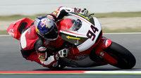 Movido warm up de Moto2 en Barcelona para Jonas Folger